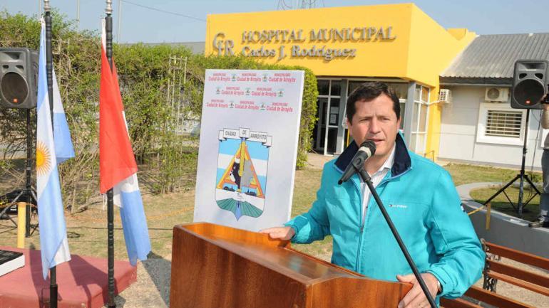 El Municipio mantiene con gran esfuerzo este hospital, donde la mitad de los pacientes no son residentes de Arroyito (Municipalidad de Arroyito)