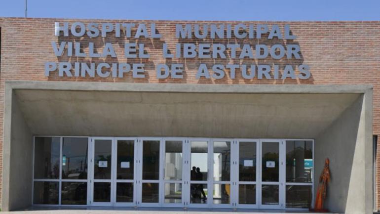Hospital Príncipe de Asturias, de Córdoba capital (La Voz).