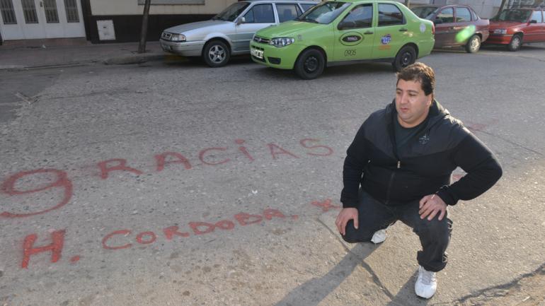 Alejandro Licciardi planea repetir todos los meses el mismo ritual (La Voz/ Raimundo Viñuelas)