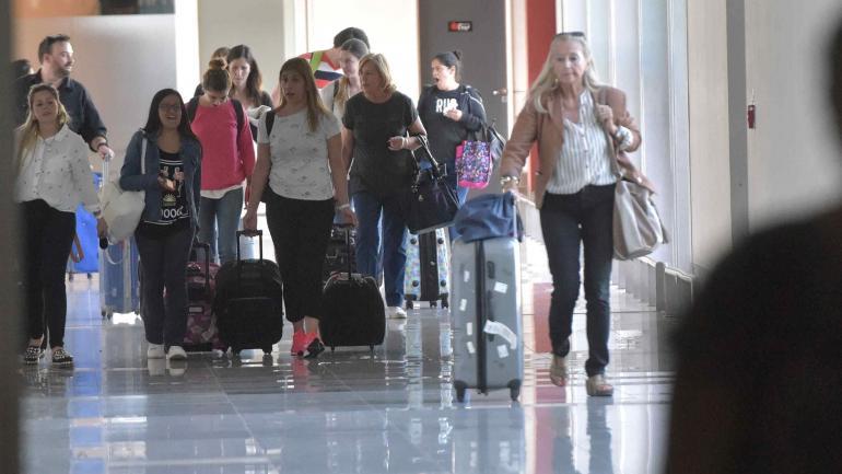 """""""Hub"""" Córdoba. El movimiento en el aeropuerto Taravella tuvo un fuerte crecimiento en 2017. (Facundo Luque)"""