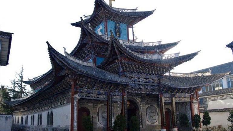 CHINA. Una iglesia católica en China. Los lazos diplomáticos entre China y el Vaticano son oficialmente inexistentes desde 1951. (Newsva)