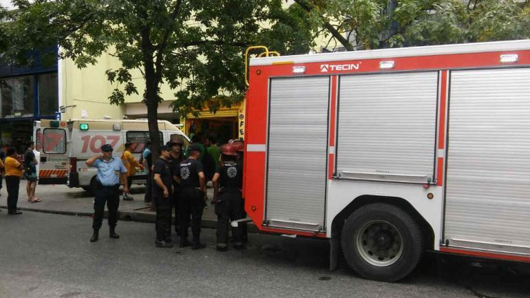 Incendio. El operativo en la zona (LaVoz).