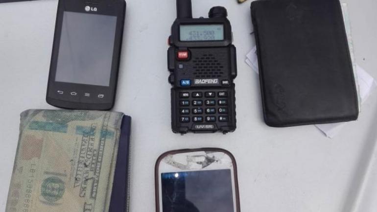 Secuestro. Los aparatos hallados en operativos. (Policía)