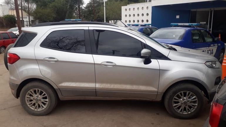 Uno de los vehículos secuestrados. (Policía de Córdoba)