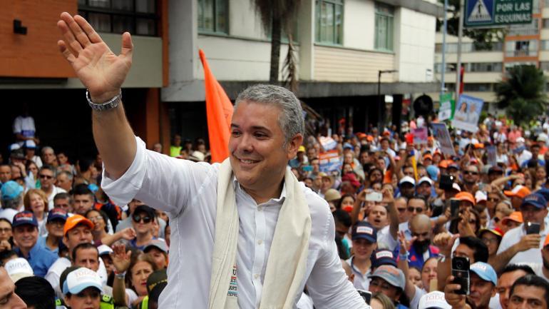 COLOMBIA. Ivan Duque es el nuevo presidente de Colombia (AP / Archivo).