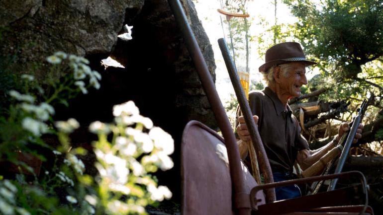 ORLANDO GIMÉNEZ. El jardinero de La Cumbrecita (La Voz).