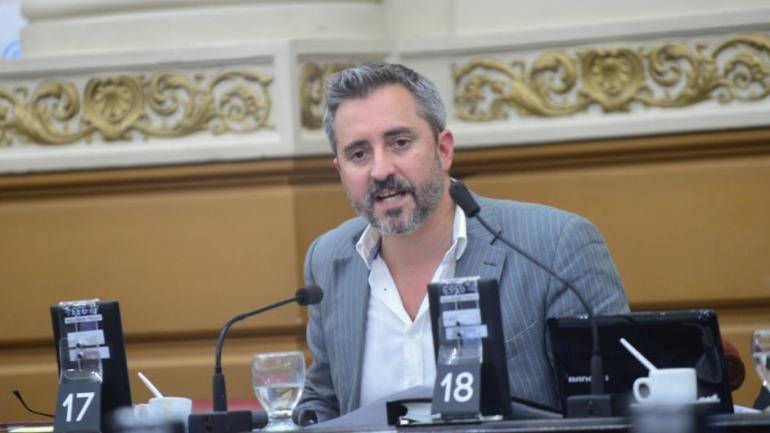 Martín Fresneda, legislador del bloque Córdoba Podemos.