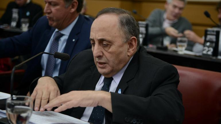 El legislador radical Miguel Nicolás. (Archivo)