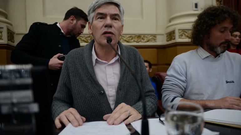 SALAS. El legislador del Partido Obrero, Eduardo Salas. (Archivo/ La Voz)