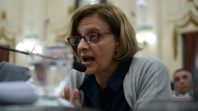Marcela Tinti, legisladora del Frente Cívico.