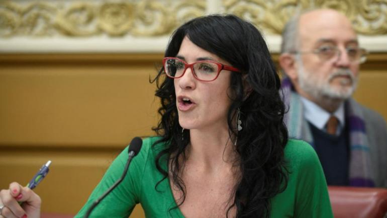 Laura Vilches, legisladora del bloque FIT-PTS.