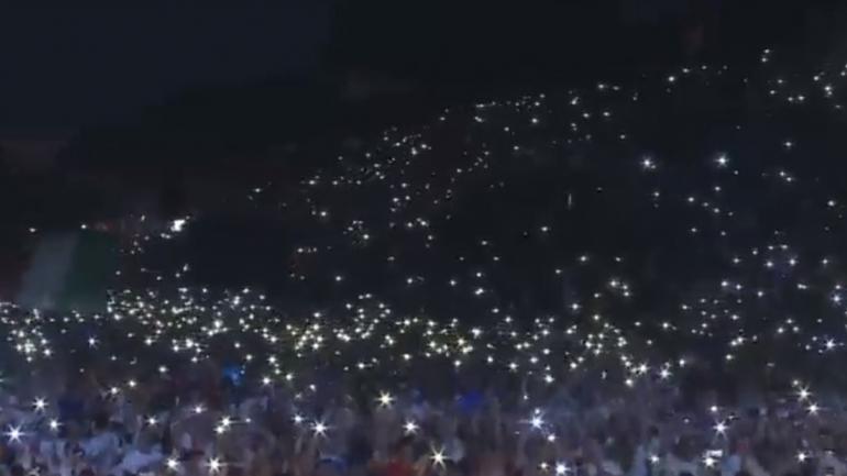 Miles de jóvenes se reunieron con el Papa en Roma. (Captura de video)