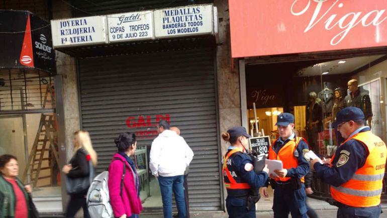 JOYERÍA. No hay detenidos (Pedro Castillo/LaVoz).