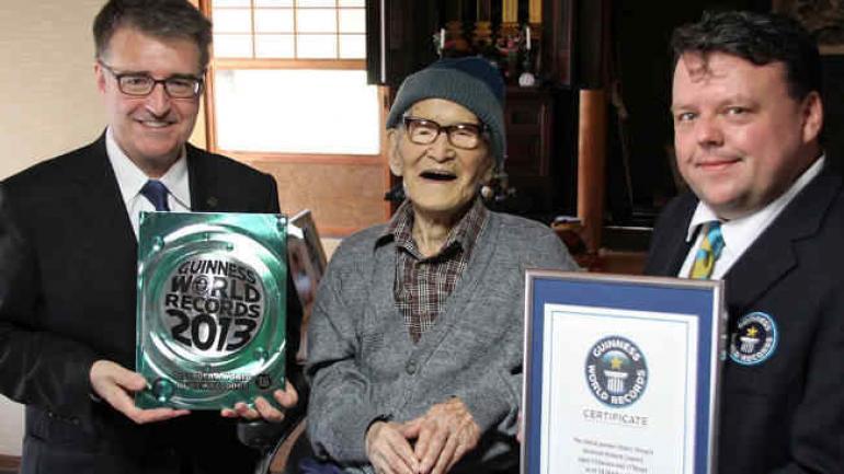 Jiroemon Kimura había nacido en 1897 (agencia AP).