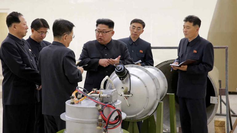 COREA DEL NORTE. Amenaza con lanzar una bomba de hidrógeno (AP).