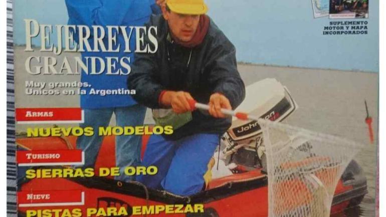 CORDOBAZO. Así tituló en tapa la revista Weekend un artículo de 1993 relacionado con la laguna La Amarga.