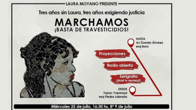 La marcha este miércoles saldrá desde Túpac Yupanqui al 8.300.
