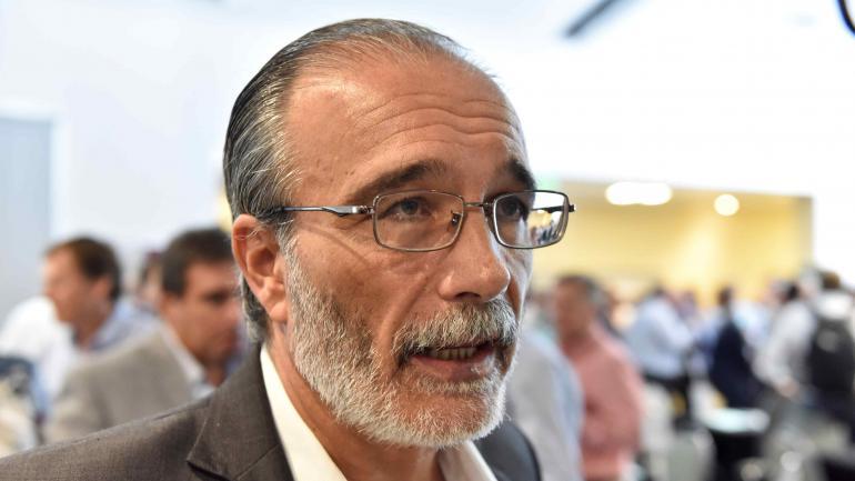 Fabián López, ministro de Agua, Ambiente y Servicios Públicos de la Provincia.