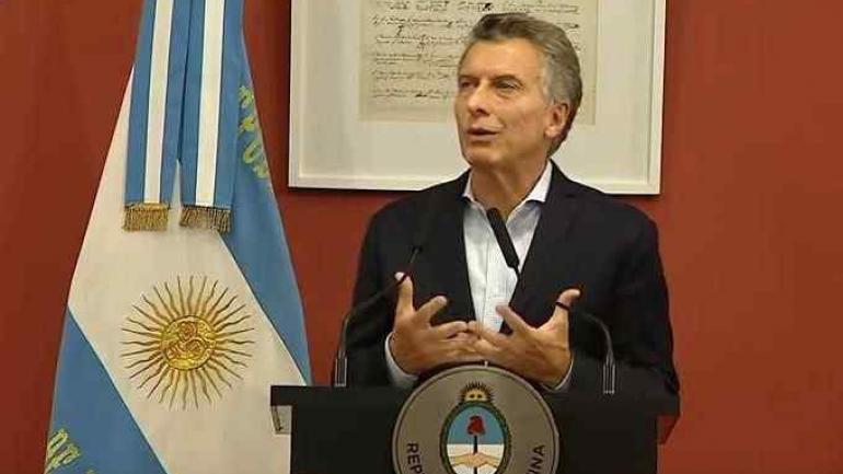 MAURICIO MACRI. Presentó las reformas en las becas Progresar. (Captura video)