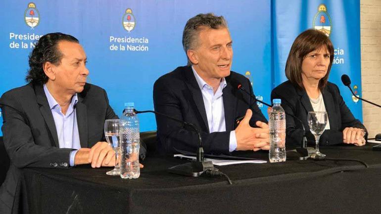 CONFERENCIA. Sica, Macri y Bullrich en Río Cuarto (La Voz).