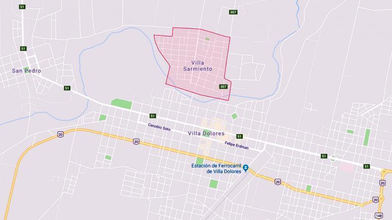 Villa Sarmiento es una localidad de Traslasierra.