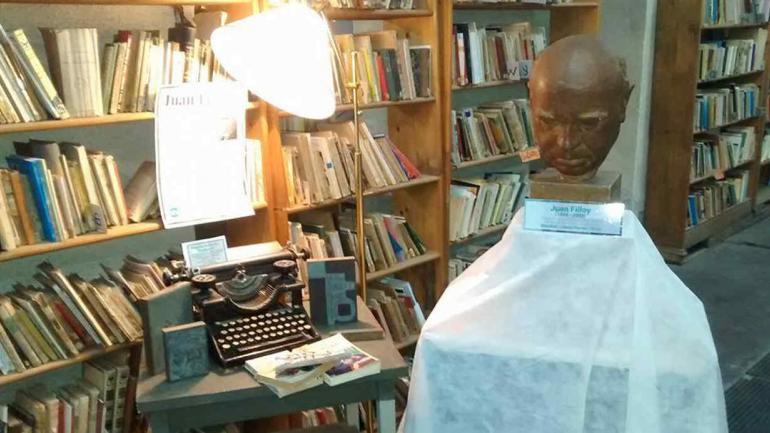 Máquina que perteneció al escritor Juan Filloy.