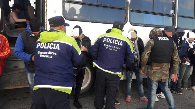 Las fotos del operativo (Policía).