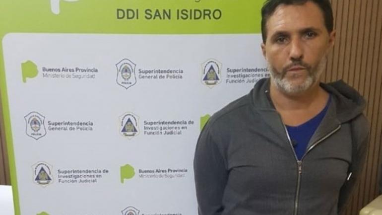 ACUSADO. Nicolás Pachelo, el principal acusado por el homicidio de García Belsunce, fue detenido por robos a countries. (Clarín)
