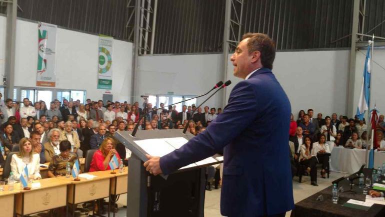 MESTRE. En la apertura de sesiones (La Voz/Ramiro Pereyra).