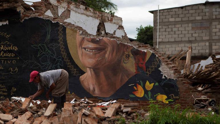 MÉXICO. La reconstrucción tras el terremoto