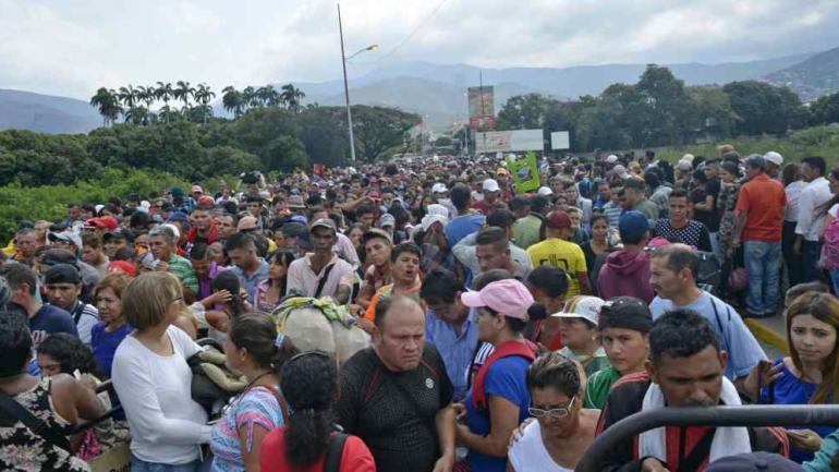Frontera caliente. Más problemas entre Venezuela y Colombia. (AP)