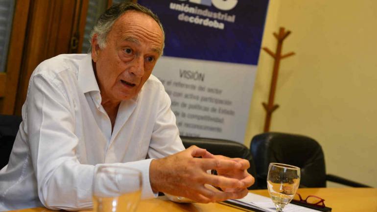 ACEVEDO. El Ceo de AGD y presidente de la UIA, uno de los mejores dirigentes empresarios de la última década, según Konex (LA VOZ/Archivo)