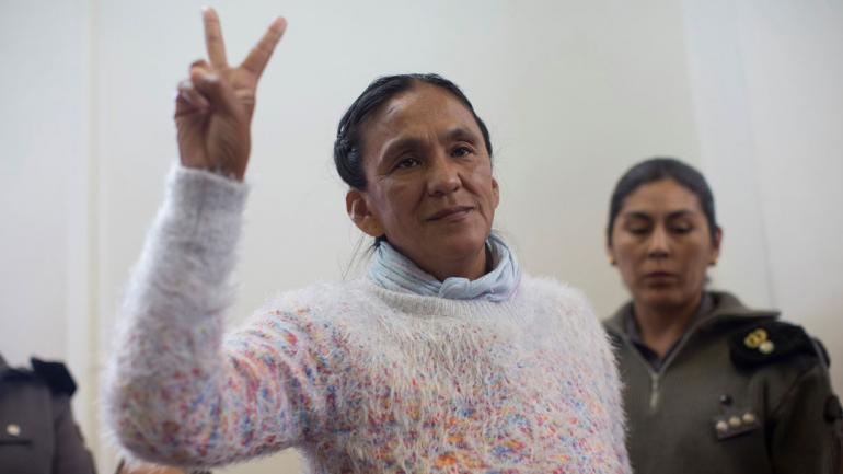 Milagro Sala. (AP / Archivo)