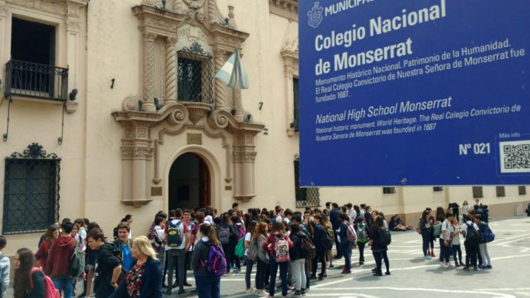 El Monserrat también retomó el dictado de clases (Ramiro Pereyra).