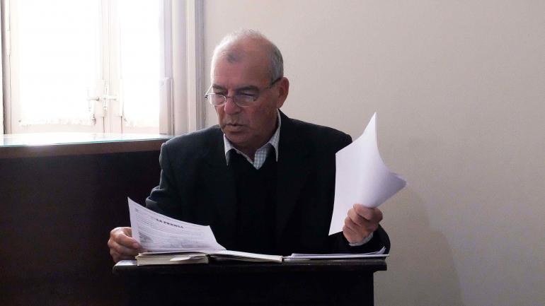 RÍO CUARTO. Juez de Control Daniel Muñoz (La Voz).