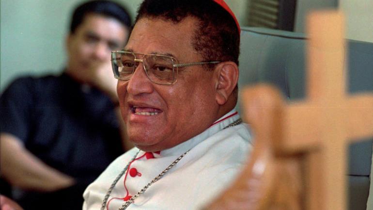 Miguel Obando y Bravo, cardenal de Nicaragua (AP / Archivo)