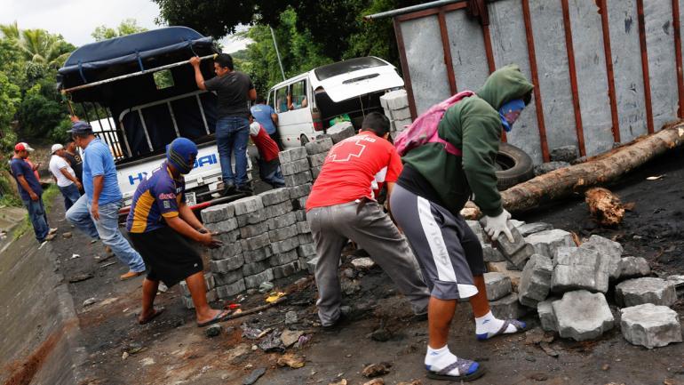 NICARAGUA. Una multitud de manifestantes se expresan en las calles de todo el país centroamericano (AP / Archivo).