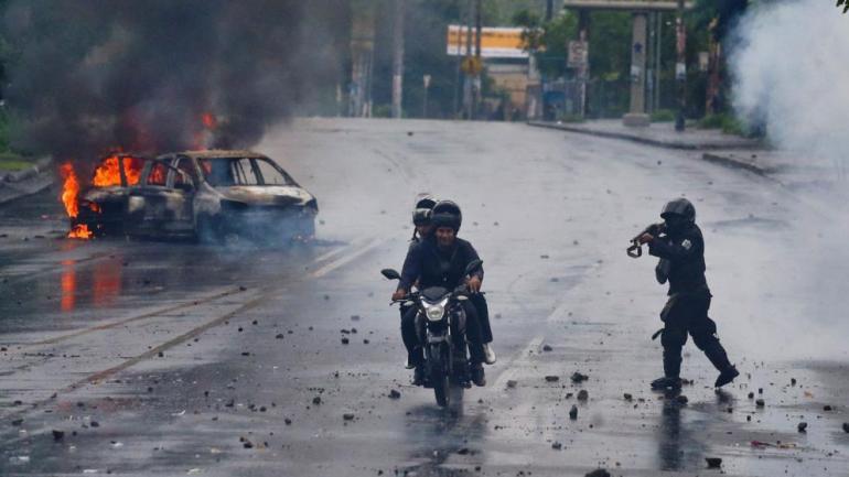 NICARAGUA. (AP).