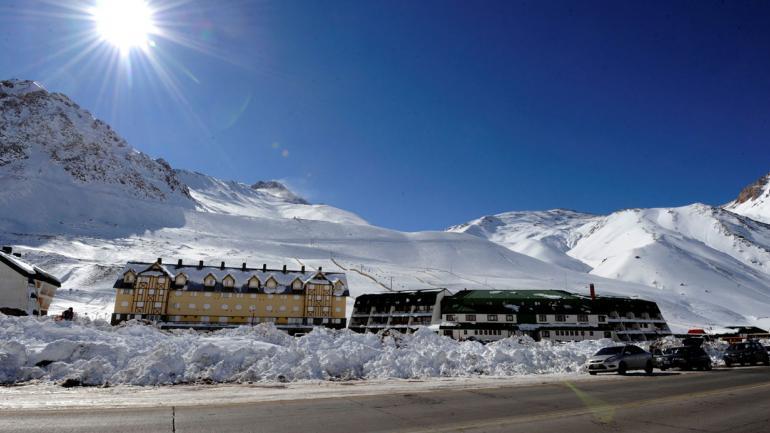 MENDOZA. El centro de esquí Penitentes. Imagen ilustrativa (Télam/Archivo).