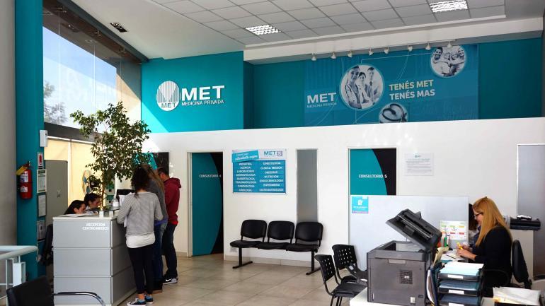 MET cuenta con dos Centros Médicos Exclusivos para socios ubicados en Nueva Córdoba y Cerro de las Rosas (MET).