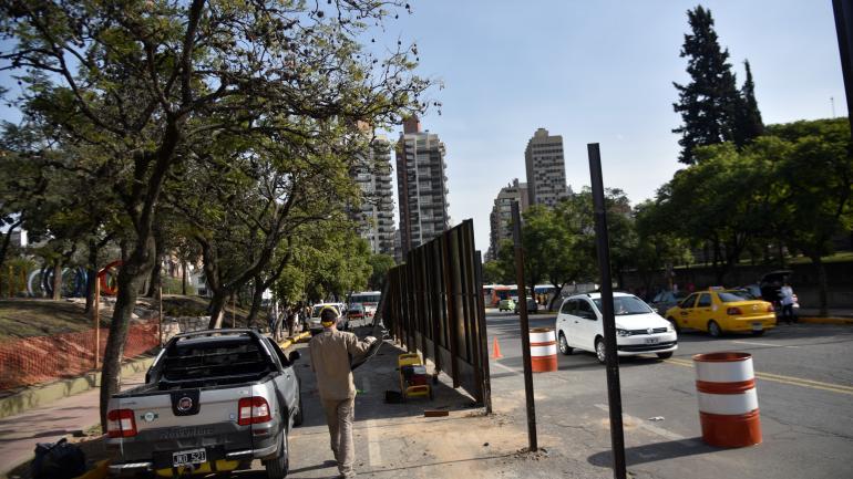 Portal. La circulación por Belgrano estará interrumpida varias semanas.