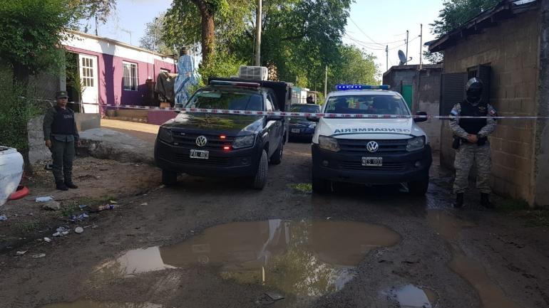 LA CALERA. El operativo se llevó en distintos domicilios (Policía Federal Antinarcotráfico).