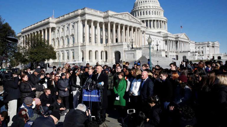 Un millón de personas se movilizarán en EE.UU. (AP).