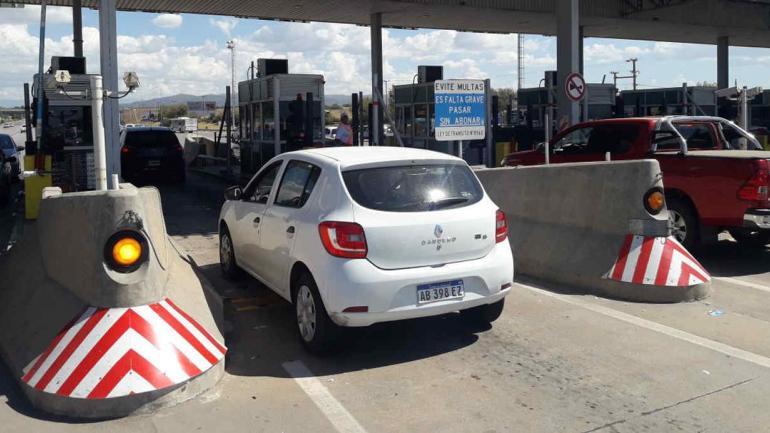 El peaje de la autopista Córdoba-Carlos Paz (LaVoz).