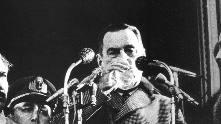 Juan Domingo Perón (Archivo / La Voz)