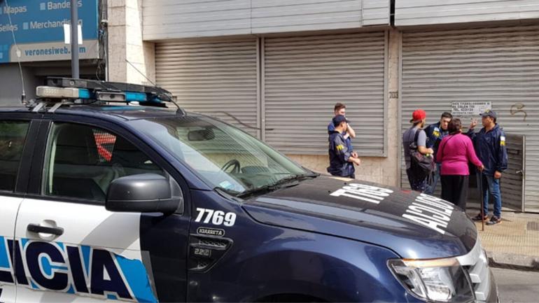 OPERATIVO. En Córdoba (Gentileza Policía Federal).