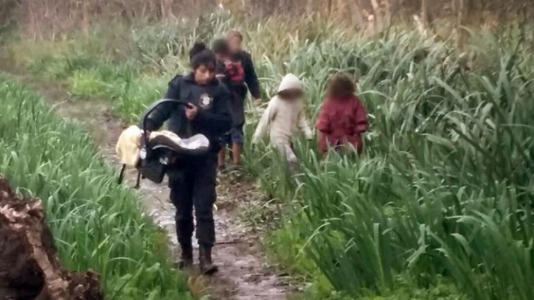 PUNTA LARA. El rescate de los cinco niños fue gracias al llamado de su abuela. (La Nación)