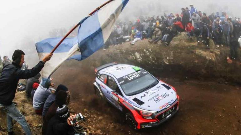 El Rally Mundial por las sierras de Córdoba.