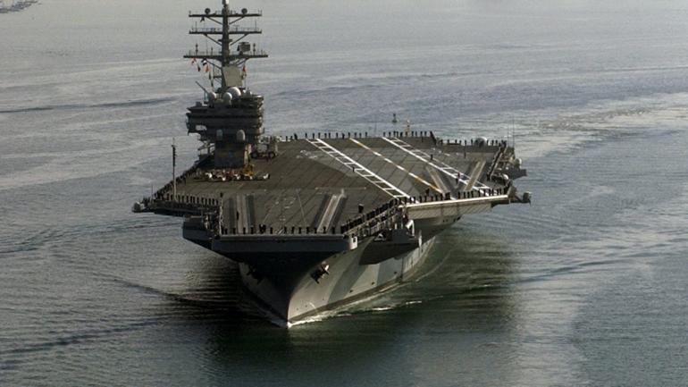El portaaviones USS Ronald Reagan (AP).