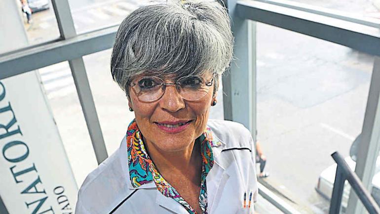 Recursos. Para María Inés Villalonga, hay discutir qué se hace con los recursos en salud. (la Voz)